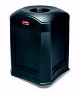 Rubbermaid 9W00 Landmark Series Standard Funnel Top (35 Gal)